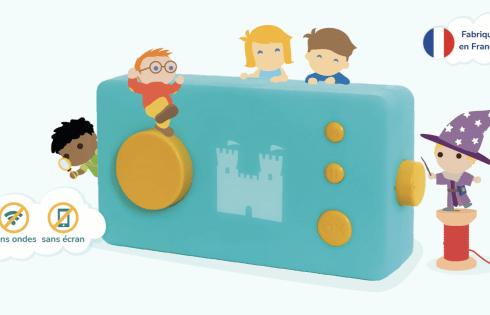 La Fabrique à Histoire, le jouet pour le développement de l'enfant par Lunii